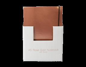 Wholesale A5 Rose Gold Foil Notebooks   Gem Imports Ltd