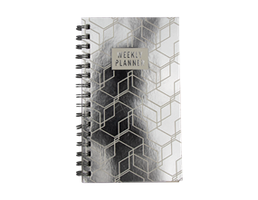 Wholesale Foil Printed Weekly Planners | Gem Imports Ltd
