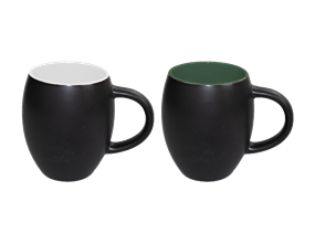 Wholesale Stoneware Matt Barrel Mugs | Gem Imports Ltd