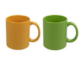 Wholesale Stoneware Bright Mugs | Gem Imports Ltd