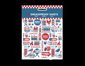 Wholesale BBQ Greaseproof Sheets | Gem Imports Ltd