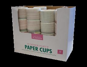 Wholesale Summer Paper Cups | Gem Imports Ltd