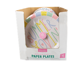 Wholesale Summer Paper Plates | Gem Imports Ltd