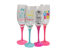 Wholesale Summer Prosecco Glasses | Gem Imports Ltd