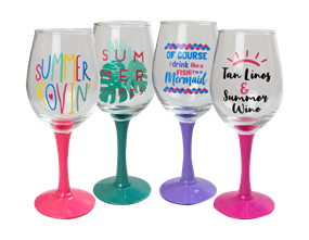 Wholesale Summer Wine Glasses | Gem Imports Ltd