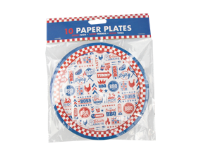 Wholesale BBQ Paper Plates | Gem Imports Ltd