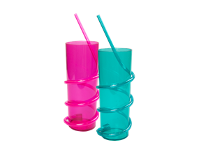 Wholesale Crazy Straw Tumblers | Gem Imports Ltd
