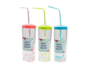 Wholesale Crazy Straw Beakers | Gem Imports Ltd