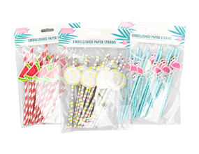 Wholesale Summer Party Straws | Gem Imports Ltd