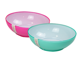 Wholesale Two Tone Picnic Bowls | Gem Imports Ltd