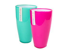 Wholesale Two Tone Picnic Tumblers | Gem Imports Ltd