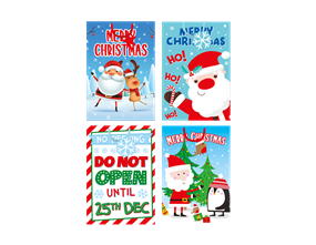 Wholesale Super Jumbo Portrait Christmas Gift Bags | Gem Imports Ltd