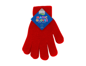 Kids Plain Magic Gloves