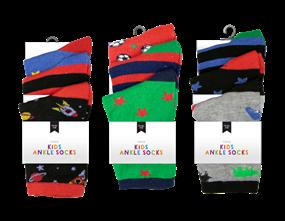 Wholesale Boys Fashion Ankle Socks   Gem Imports Ltd