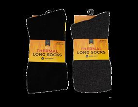 Wholesale Mens Thermal Long Socks | Gem Imports Ltd