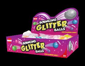 Wholesale Bouncing Glitter Balls | Gem Imports Ltd