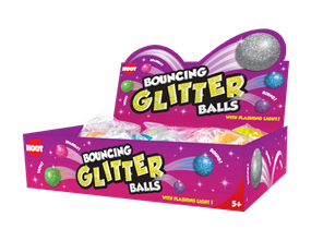 Wholesale Bouncing Glitter Balls | Gem Imports Ltd