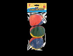 Soft Juggling Balls 3pk