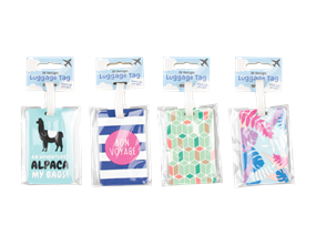 Wholesale Fashion Luggage Tags | Gem Imports Ltd