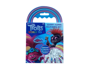 Wholesale Trolls Movie Carry Along Colour Set | Gem Imports Ltd