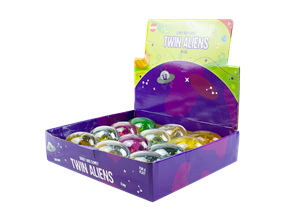 Wholesale Twin Aliens In Egg | Gem Imports Ltd
