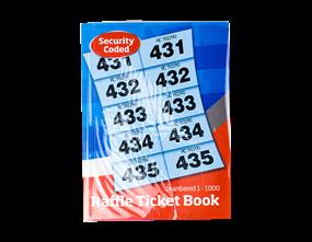 Raffle Tickets 1-1000 Book