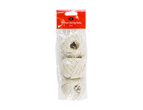Balls Of Cotton String 50g - 3 Pack