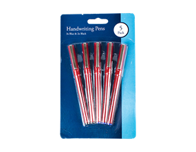 Handwriting Pens - 5 Pack