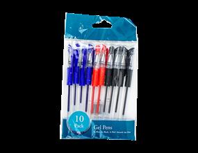 Gel Pens - 10 Pack