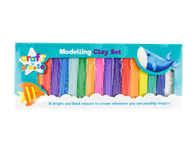 Modelling Clay Set - 16 Pack