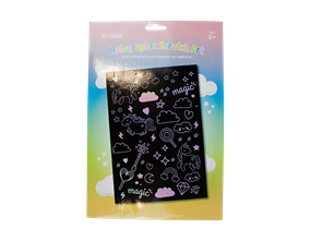 Wholesale Girls Holographic Scratch Art Sets | Gem Imports Ltd