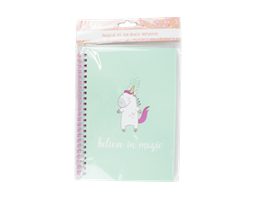 Wholesale Magical A5 Hardback Wired Notebooks | Gem Imports Ltd