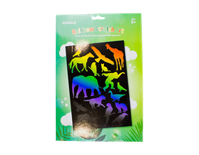 Wholesale Rainbow Scratch Art Sets   Gem Imports Ltd