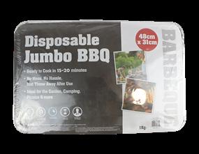 Wholesale Jumbo Party Disposable BBQs | Gem Imports Ltd