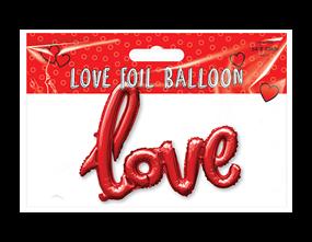 Wholesale Valentine's Day Love Foil Balloons | Gem Imports Ltd