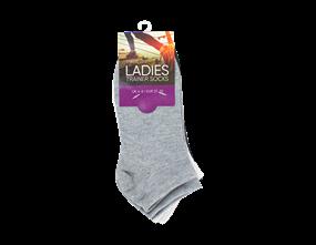 Ladies Trainer Socks 4-6 - 3 Pack