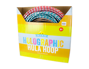 Wholesale Holographic Hula Hoops | Gem Imports Ltd