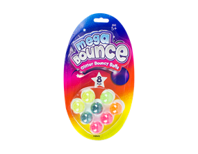 Wholesale Mega Bounce Glitter Balls | Gem Imports Ltd