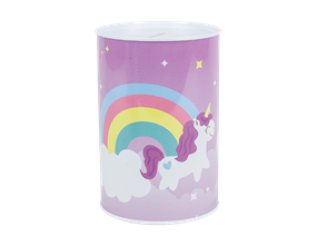 Wholesale Unicorn Design Money Tins | Gem Imports Ltd