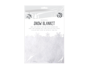 Christmas Snow Blanket 70cm x 50cm