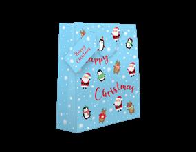 Christmas Luxury Medium Cute Gift Bag