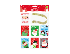 Christmas Gift Tags - 50 Pack