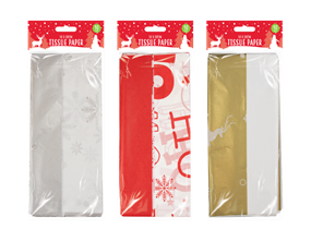 Christmas Tissue Paper - 10 Sheets