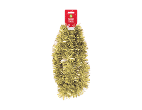 Gold Christmas Tinsel 2m