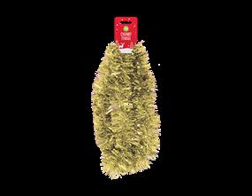 Gold Christmas Tinsel 2m