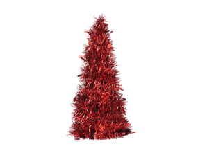 Christmas Tinsel Tree 31cm