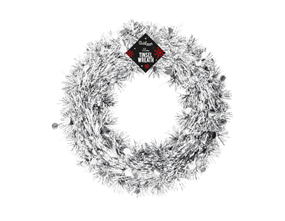 Wholesale Tinsel Christmas Wreaths | Gem Imports Ltd