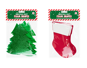 Christmas Craft Large Foam Shapes