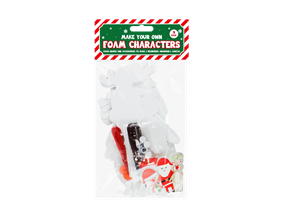Christmas Craft Foam Characters