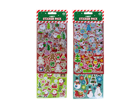 Wholesale Christmas Sticker Pack | Gem Imports Ltd